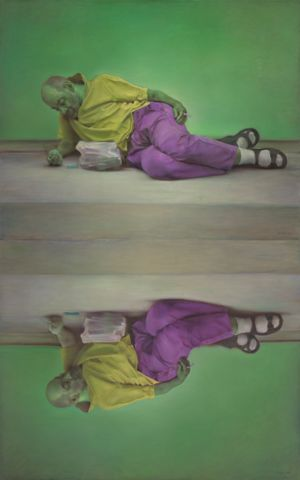 Narcissus by Pang Maokun contemporary artwork