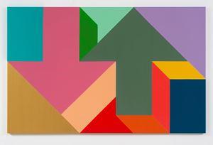 Arrow Painting 43 by Tony Tasset contemporary artwork