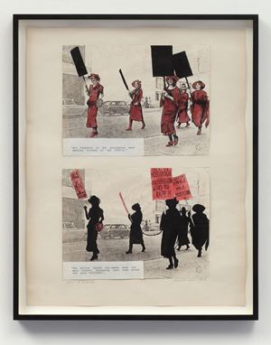 The Media by Alexis Hunter contemporary artwork