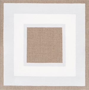 Exposed Square with Three White Borders by Danica Firulovic contemporary artwork