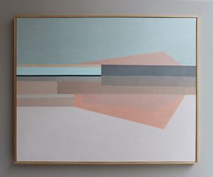 The Red Rigi by Kim Bartelt contemporary artwork