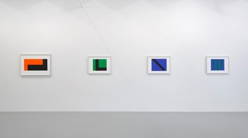 Contemporary art exhibition, Carmen Herrera, Paintings on Paper at Lisson Gallery, New York
