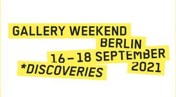Contemporary art art fair, Gallery Weekend Berlin at KÖNIG GALERIE, Berlin, Germany