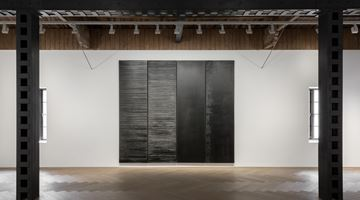 Contemporary art exhibition, Pierre Soulages, Pierre Soulages at Perrotin, Shanghai