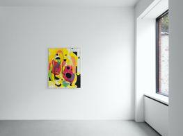 "Matt Connors<br><em>Swap</em><br><span class=""oc-gallery"">Xavier Hufkens</span>"