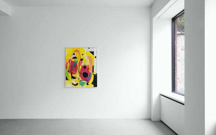 Exhibition view: MattConnors. Swap,Xavier Hufkens, 44 rue Van Eyck(6 March–3 April 2021). Courtesy Xavier Hufkens, Brussels.Photo: HV-studio.