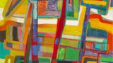 Contemporary art exhibition, Group Show, Colors of Abstraction at Helene Bailly Gallery, Paris, France