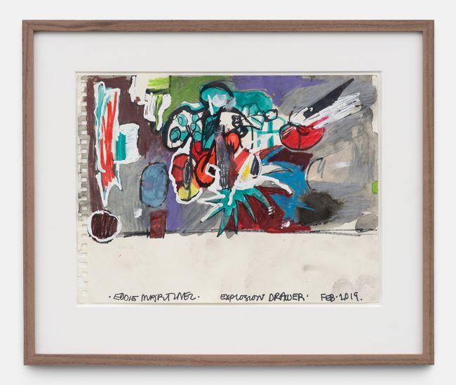 Explosion Drawer by Eddie Martinez contemporary artwork