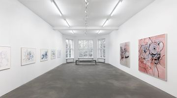 Contemporary art exhibition, George Condo, Linear Expression at Sprüth Magers, Berlin