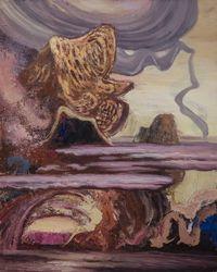 云雾山2号   Mist Mountain No.2 by Ji Lei contemporary artwork painting, works on paper
