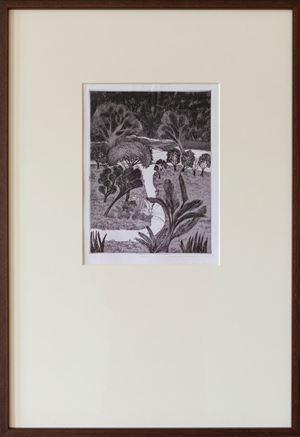Path by Mrinalini Mukherjee contemporary artwork print