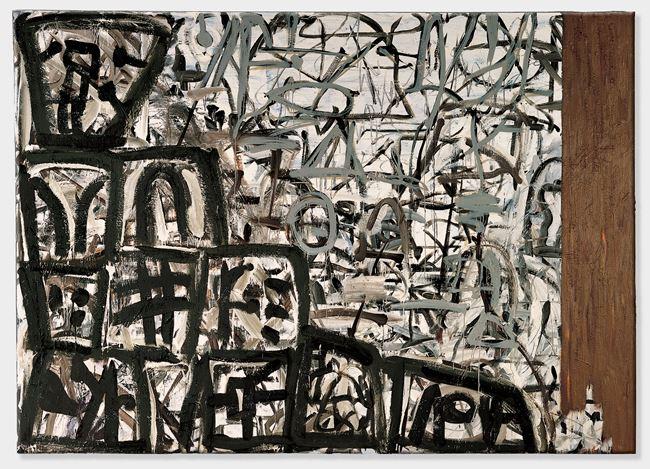 Pathfinder by Basil Beattie contemporary artwork
