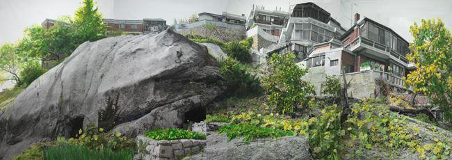 Study of Green-Seoul-Vacant Lot-Changshin-dong 4 by Honggoo Kang contemporary artwork