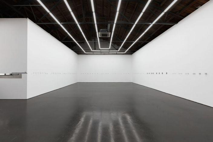 Exhibition view: Wang Luyan, Curved Folding Space,Beijing Commune, Beijing (24 September–10 November 2020).Courtesy Beijing Commune.