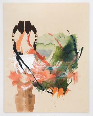 Double Wrangle by Elizabeth Neel contemporary artwork