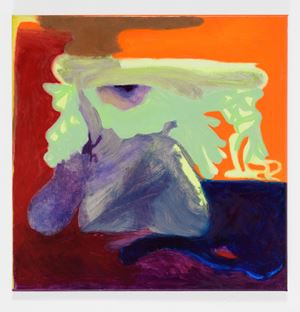 Keeping Distance by Viktorie Langer contemporary artwork