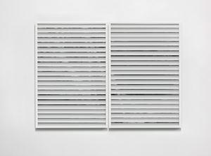Single Hung, 13-14 by Chris Coy contemporary artwork