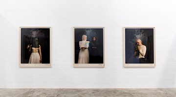 Contemporary art exhibition, Jacqui Stockdale, The Boho at THIS IS NO FANTASY dianne tanzer + nicola stein, Melbourne, Australia