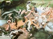 Grace Wright's Painted Cacophonies Entice and Repel in Equal Measure