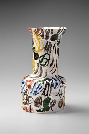 Vase (tall neck) by Stephen Benwell contemporary artwork