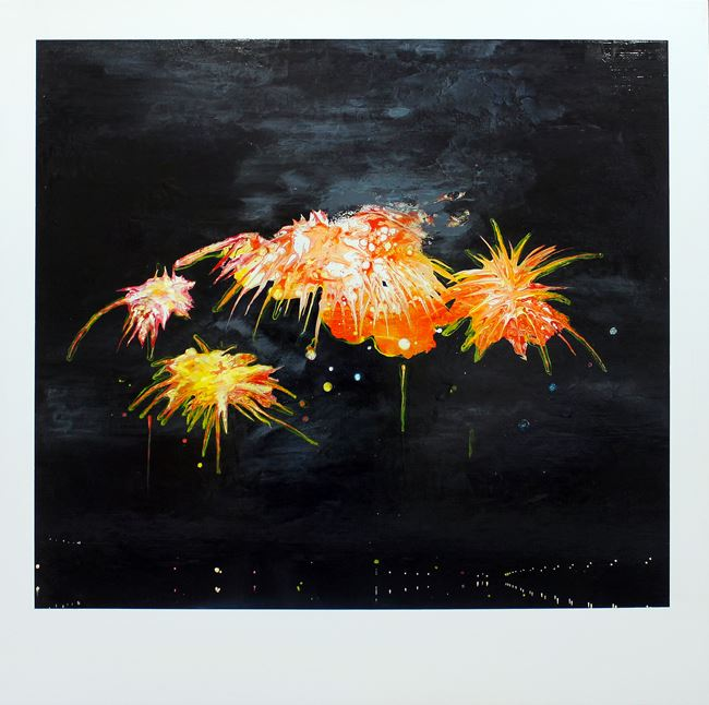 Globe Silent 015 – Riverside Park for Everyone by Chou Tai-Chun contemporary artwork