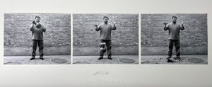 Dropping a Han Dynasty Urn by Ai Weiwei contemporary artwork photography