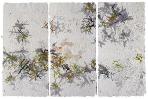 Clear Autumn (triptych) by Gu Gan contemporary artwork