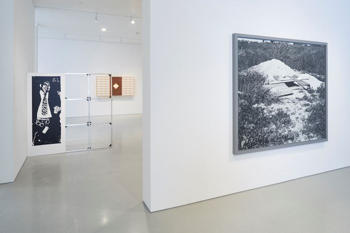 Exhibition view: Group Exhibition, Laws of Motion, Gagosian, San Francisco (14 January–9 March 2019). © Artists and Estates. Courtesy Gagosian.