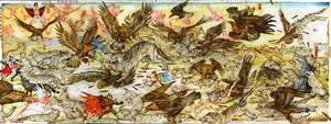 Big Bad Wolves, Chap. 4 by Mu Pan contemporary artwork