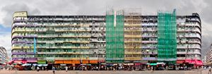 'Ki Lung Street', The Last Tong Lau, Sham Shui Po by Stefan Irvine contemporary artwork