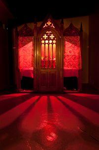 Confessionnal by Li Wei contemporary artwork installation
