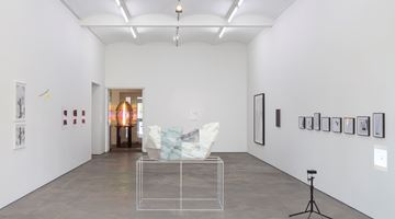 Contemporary art exhibition, Group Exhibition, local talent at Sprüth Magers, Berlin, Germany