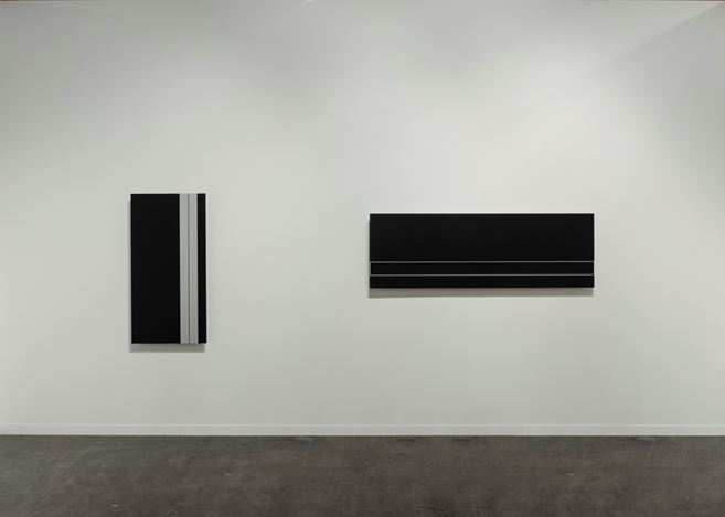 Exhibition view: Bartha Contemporary, Booth A33, artgenève 2018 (1 February–4 February 2018). Courtesy Bartha Contemporary, London.