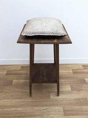 Untitled (Kissen auf Tischchen / Pillow on little table) by Heidi Bucher contemporary artwork