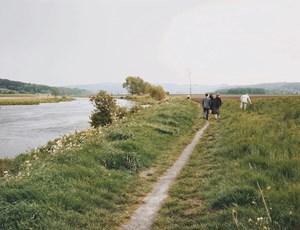 Mülheim an der Ruhr, Sonntagsspaziergänger by Andreas Gursky contemporary artwork