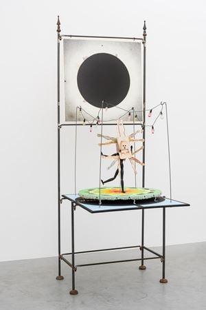 De Kosmogonoloog (maquette voor de dansvloer) by Patrick Van Caeckenbergh contemporary artwork