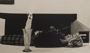 Roberta Multiple is Exorcised With Flaming Vase (Michelle Larson) by Lynn Hershman Leeson contemporary artwork