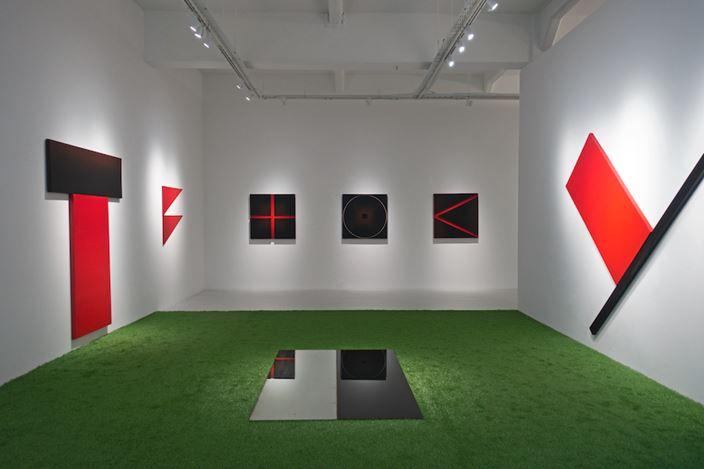 Exhibition view: Po Po, Primeval Codes, Yavuz Gallery, Singapore (24 July–29 August 2020). Courtesy Yavuz Gallery.
