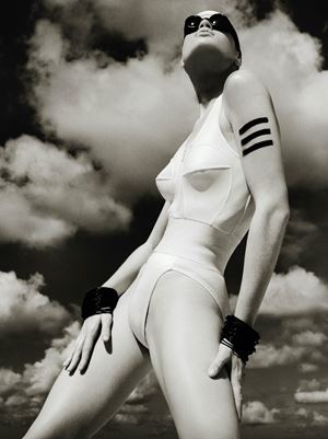 Swimsuit & Goggles, Mauritius, 1985 by Albert Watson contemporary artwork