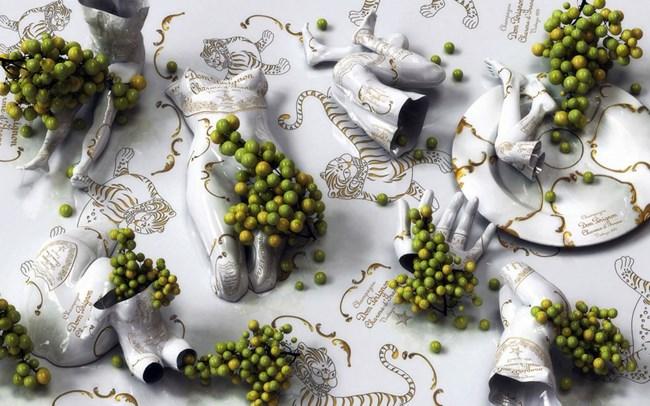 Golden Hour-Dom Perignon by Kim Joon contemporary artwork