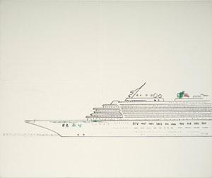 Asuka Oceanliner《飛鳥號》 by Yeh Shih-Chiang contemporary artwork