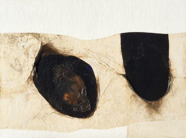 Bianco Plastica by Alberto Burri contemporary artwork