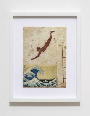 H.D.N.R.I.B.I.R. (Tomba del Tuffatore / Hokusai) by Max Frisinger contemporary artwork