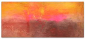 Texas Louise by Frank Bowling contemporary artwork