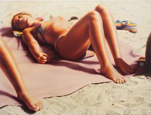 海灘 136 Beach 136 by Hilo Chen contemporary artwork