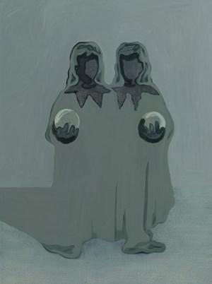 Gemination No. 10 双生之十 by Lin Shan contemporary artwork