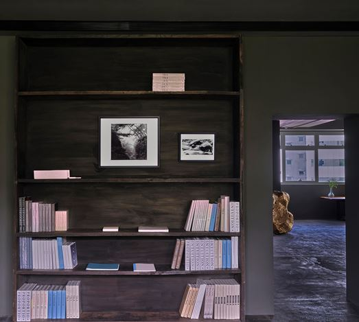 Exhibition view: Bae Bien-U,Memories of Wandering - Small-format works from the 80s, 90s, and early 2000s., Axel Vervoordt Gallery, Hong Kong (20 June–19 September 2020). Courtesy Axel Vervoordt Gallery.