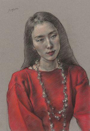 Miss Da by Pang Maokun contemporary artwork