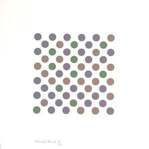 Measure to Measure by Bridget Riley contemporary artwork