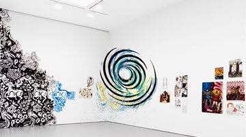 Contemporary art exhibition, Marcel Dzama and Raymond Pettibon, Forgetting the Hand at David Zwirner, 19th Street, New York